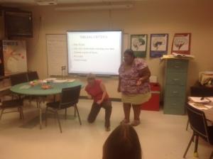 Teachers learning tableau